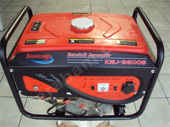 kaan KBJ 3600E benzinli marşlı jeneretör