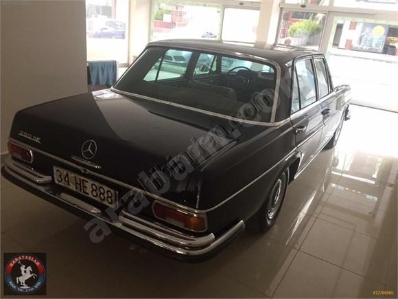 1967 MODEL W108 250 SE NADİDE BİR KLASİK....