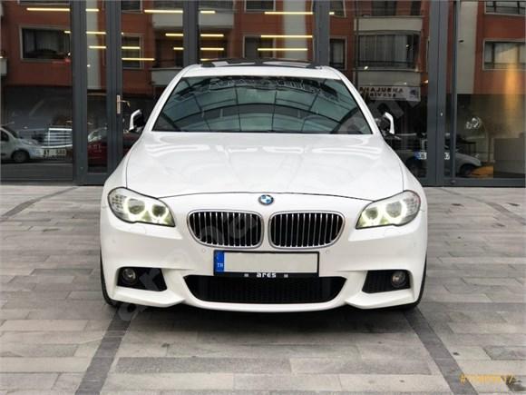ARES'DEN 2011 BMW 520d M Sport - BAYİ ÇIKIŞLI - HAYALET - VAKUM