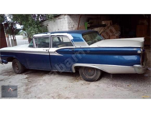 1959 MODEL FORD GALAXİE 6 SİLİNDİR DÜZ VİTES