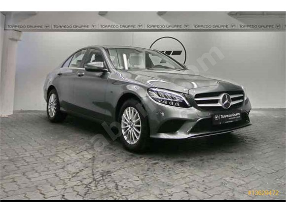 Galeriden Mercedes Benz C 200d Comfort Navi Kamara LED Sanruf Full Yeni KasaSamsun