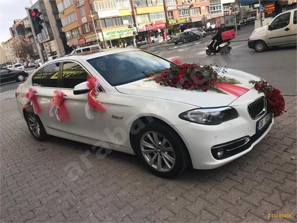 Rent-a-car'dan BMW 5 Serisi Kayseri