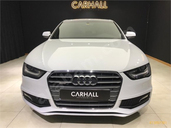 CARHALL AUTOMOBİLE S-LİNE AUDI A4 SEDAN 2.0 TDI QUATTRO OTOMATİK