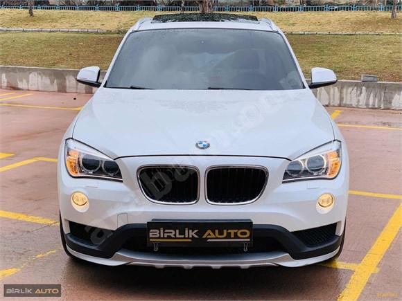 BİRLİK AUTODAN BMW X1 SEDEFLİ BOYASIZ 50.000DE