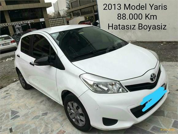 Sahibinden Toyota Yaris Hatasız Boyasız Değişensiz 2013