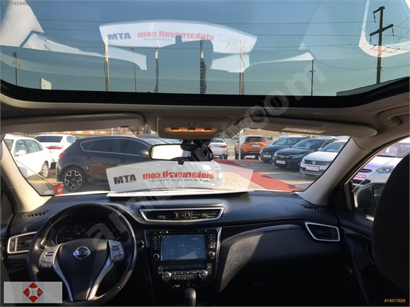 Hyundai Atmaş Plazadan Nissan Qashqai Sky Pack 1.6 Dizel Otomatk