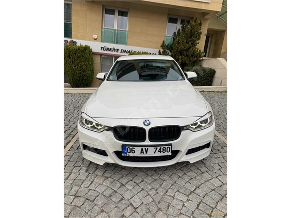 2014 BMW 3.20 İED M SPORT İÇ DIŞ GÖRÜNÜM SERAMİK KAP. TEMİZ