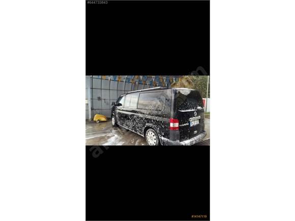 2012 Uzun şase 140 ps Siyah Transporter ACiLLL SATILIK..Cityvan