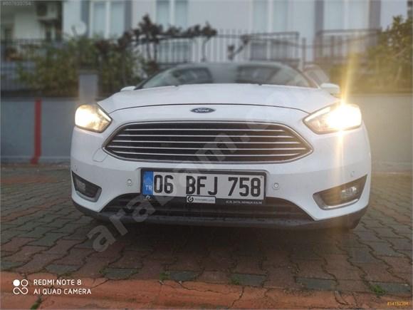 2018 Orijinal Ford Focus Dizel Otomatik