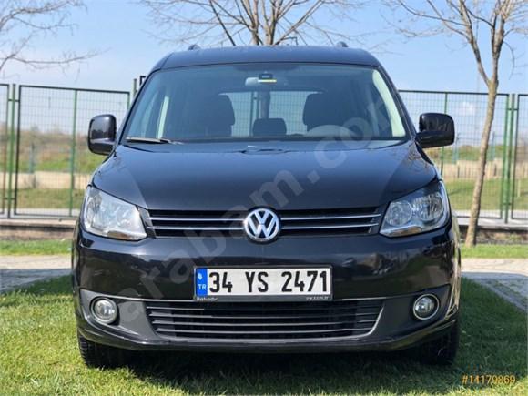 Sahibinden Volkswagen Caddy 1.6 TDI Comfortline 2013 Model Mersin