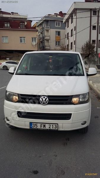 Sahibinden Volkswagen Transporter 2.0 Tdi City Van Comfortline 2014 Model İstanbul 140.000 Km Beyaz