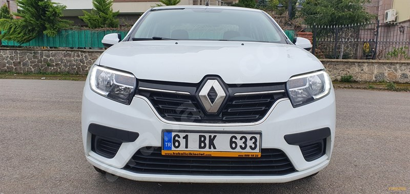 Galeriden Renault Symbol 1.5 Dci Joy 2017 Model Trabzon 131.000 Km Beyaz