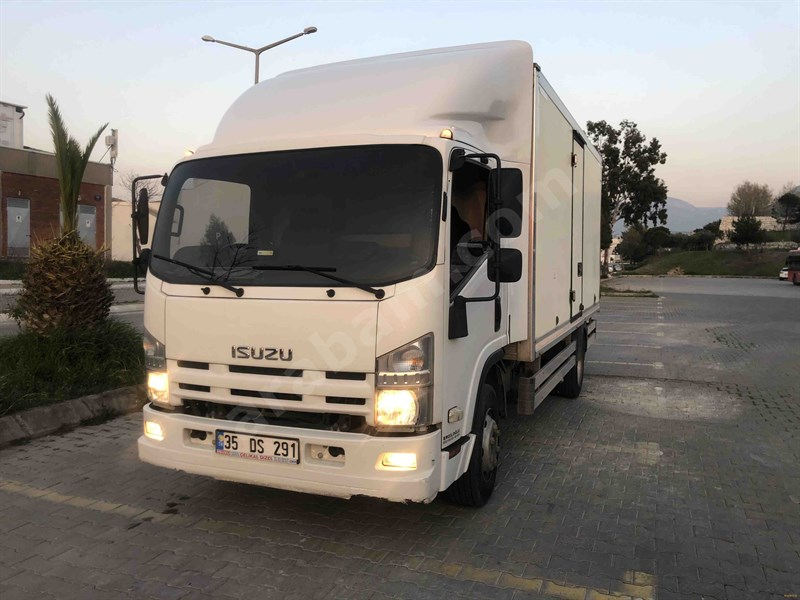 Sahibinden Isuzu Npr 10 Long 2012 Model İzmir 203.000 Km Beyaz