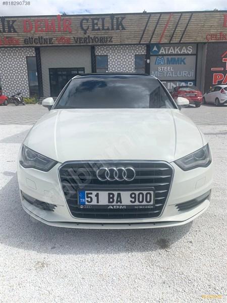 Sahibinden Audi A3 Sedan 1.6 Tdi Ambiente 2014 Model Niğde 151.000 Km Beyaz