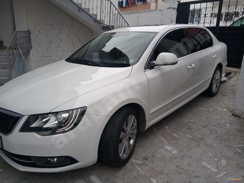 Sahibinden Skoda Superb 1.6 Tdi Prestige 2014 Model Ankara 148.500 Km Beyaz