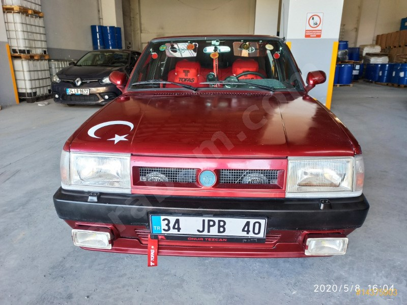 Sahibinden Tofaş Doğan L 1992 Model İstanbul 205.000 Km Kırmızı