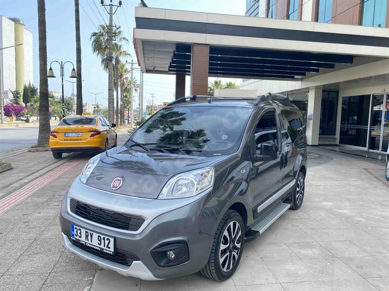 Galeriden Fiat Fiorino Combi 1.3 Multijet Premio 2020 Model Mersin 800 Km Gri (metalik)