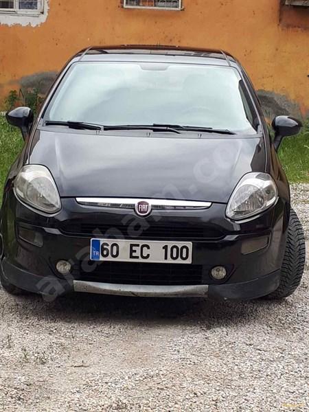 Galeriden Fiat Punto Evo 1.3 Multijet Dynamic 2011 Model Tokat 186.500 Km Siyah