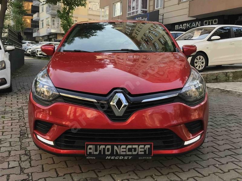 Galeriden Renault Clio 1.2 Joy 2019 Model İstanbul 8.000 Km Bordo