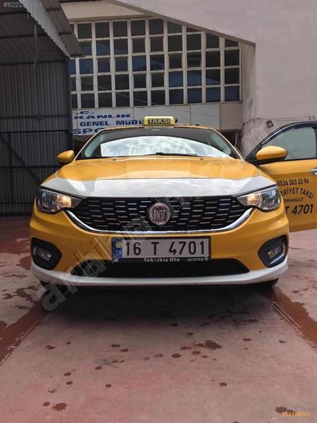 Sahibinden Fiat Egea 1.3 Multijet Urban 2017 Model Bursa 81.500 Km Sarı