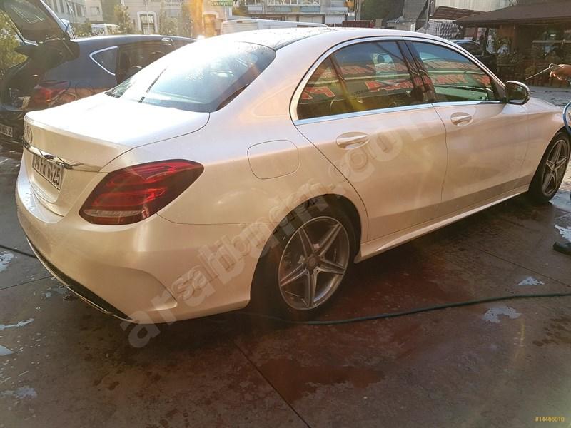 Sahibinden Mercedes - Benz C 180 Amg 7g-tronic 2016 Model İstanbul 35.000 Km Beyaz