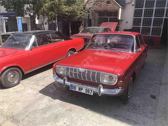 Fabrika kondisyonunda Sahibinden Ford   P5 1967 model 20M koldan vites