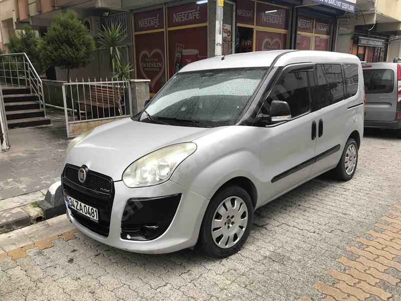 Sahibinden Fiat Doblo Combi 1.3 Multijet Dynamic 2011 Model İstanbul 288.000 Km Gri (gümüş)