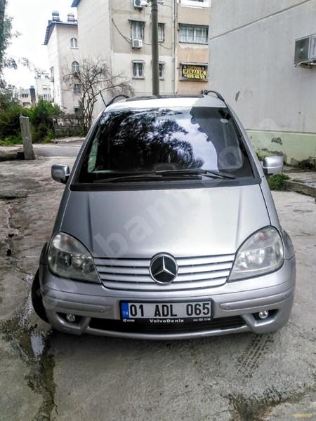 Sahibinden Mercedes - Benz Vaneo 170 Cdi Ambiente 2005 Model Adana 263.000 Km Gri (metalik)