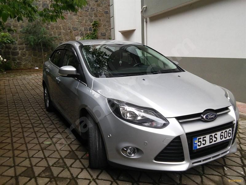 Sahibinden Ford Focus 1.6 Tdci Titanium 2013 Model Trabzon 72.500 Km Gri