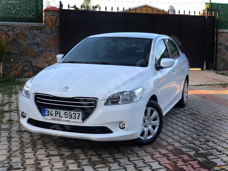 Sahibinden Peugeot 301 1.6 Hdi Active 2015 Model İstanbul 67.000 Km Beyaz