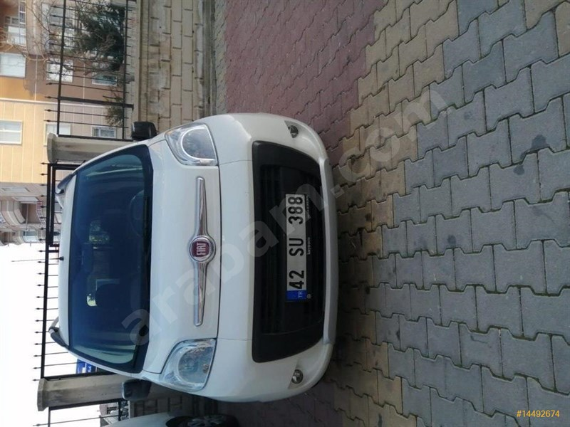 Sahibinden Fiat Fiorino Combi 1.3 Multijet Premio 2015 Model Konya 71.000 Km Beyaz