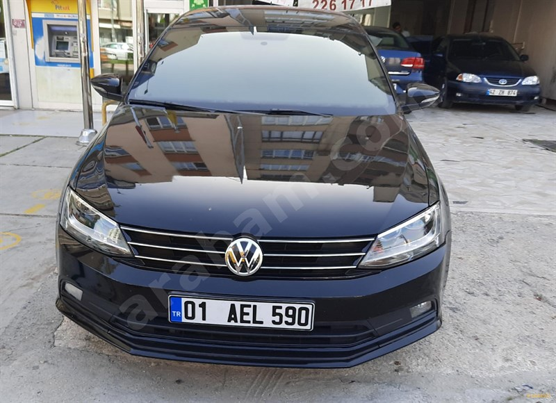 Sahibinden Volkswagen Jetta 1.6 Tdi Trendline 2015 Model Adana 94.000 Km Siyah