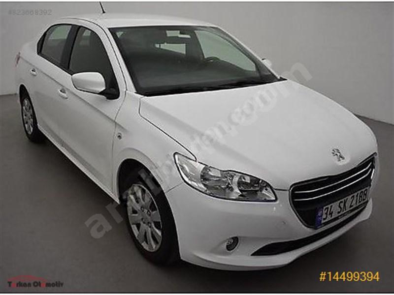 Galeriden Peugeot 301 1.6 Hdi Active 2017 Model İstanbul 88.400 Km Beyaz