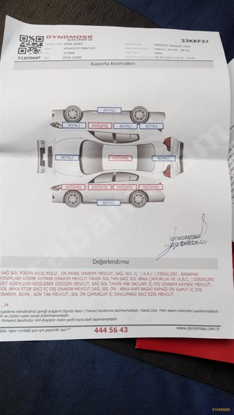 Sahibinden Renault Kangoo 1.5 Dci Expression 2004 Model İstanbul 230.000 Km Gri