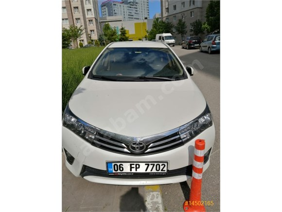 Sahibinden Toyota Corolla 1.6 Advance 2015 Model