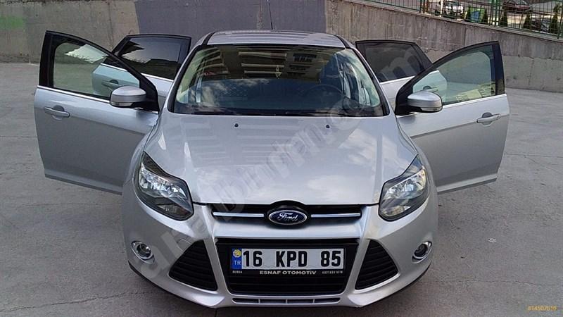 Sahibinden Ford Focus 1.6 Tdci Titanium 2012 Model Ankara 162.000 Km Gri