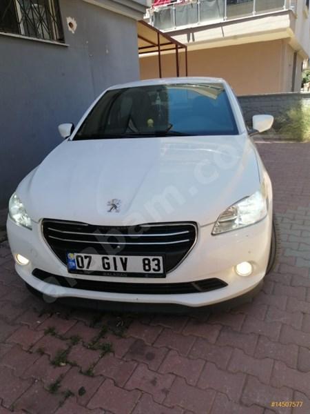 Sahibinden Peugeot 301 1.6 Hdi Active 2014 Model Antalya 85.000 Km Beyaz