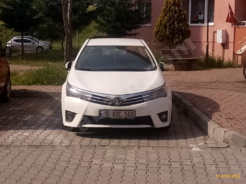 Sahibinden Toyota Corolla 1.4 D-4d Active 2016 Model İstanbul 78.000 Km Beyaz