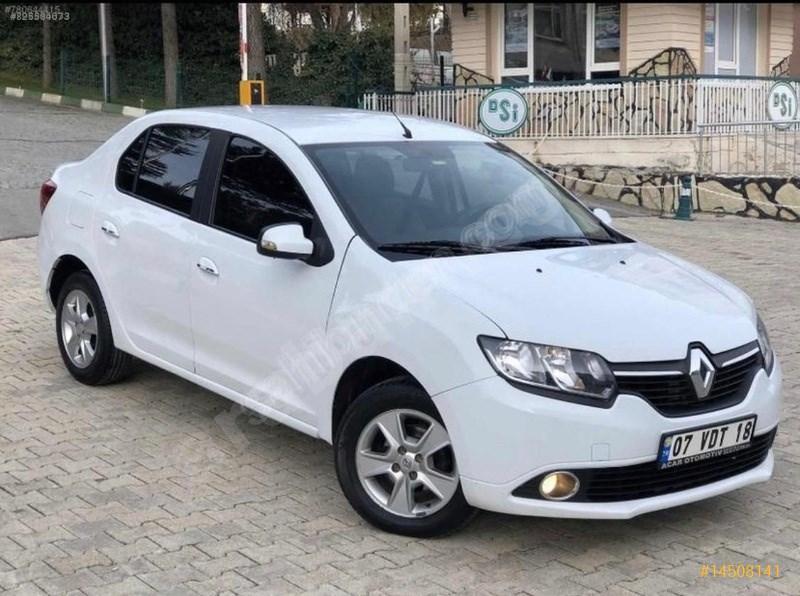 Sahibinden Renault Symbol 1.5 Dci Touch 2014 Model Adana 129.500 Km Beyaz