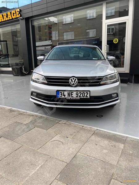 Galeriden Volkswagen Jetta 1.6 Tdi Comfortline 2015 Model İstanbul 45.000 Km Gri