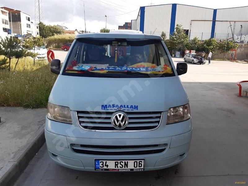 Sahibinden Volkswagen Transporter 2.5 Tdi Camlı Van 2004 Model İstanbul 399.835 Km Mavi