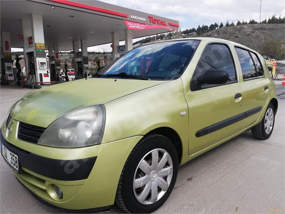 sahibinden renault clio 1.2 authentique 2005 model ankara 199.000 km -