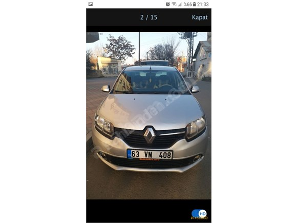 Sahibinden Renault Symbol 1.5 dCi Touch 2013 Model