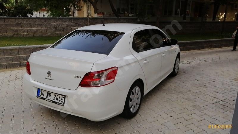 Sahibinden Peugeot 301 1.6 Hdi Active 2015 Model İstanbul 107.000 Km Beyaz