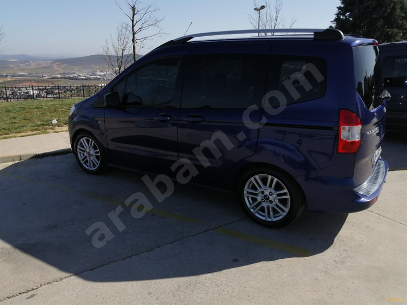 Sahibinden Ford Tourneo Courier 1.6 Tdci Titanium 2014 Model İstanbul 86.000 Km Mavi (metalik)