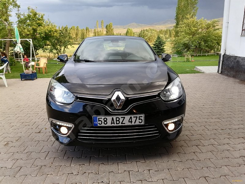 Sahibinden Renault Fluence 1.5 Dci Icon 2016 Model Sivas 72.000 Km Siyah