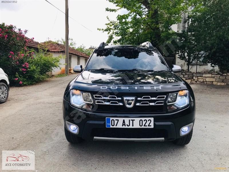 Galeriden Dacia Duster 1.5 Dci Laureate 2013 Model Antalya 169.000 Km Siyah