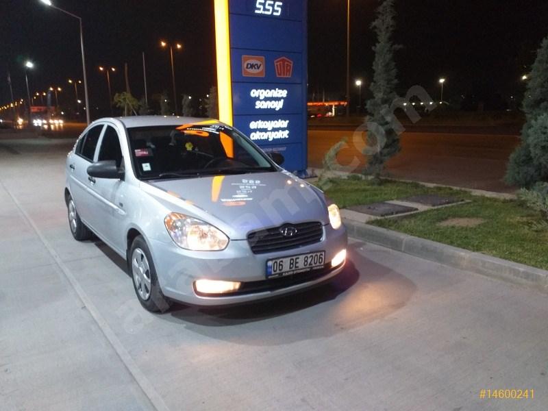 Sahibinden Hyundai Accent Era 1.5 Crdi-vgt Team 2007 Model Ankara 370.000 Km Gri