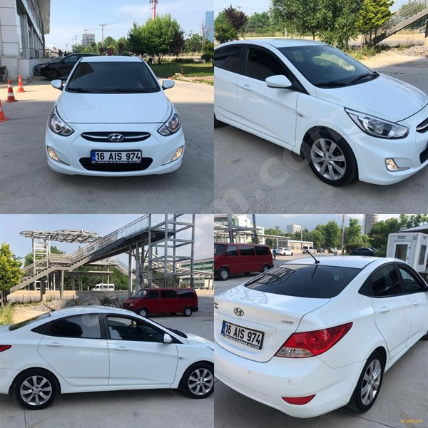 Galeriden Hyundai Accent Blue 1.6 Crdi Mode Plus 2014 Model Bursa 77.000 Km Beyaz