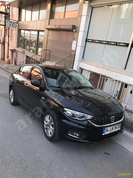 Sahibinden Fiat Egea 1.3 Multijet Urban 2016 Model İstanbul 127.000 Km Siyah